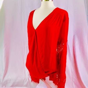 7ba32227519 INC International Concepts Tops | Luxe Sheer Mesh Tunic With ...